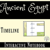 Ancient Egypt Interactive Notebook Timeline Activity or Collaborative Project
