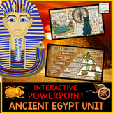 Ancient Egypt PowerPoint | Google Slides | Google Classroom Distance Learning