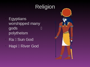 Ancient Egypt - Introduction