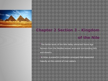 Ancient Egypt Introduction Powerpoint