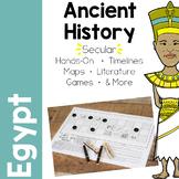 Ancient Egypt (Kemet) Unit Study Sample