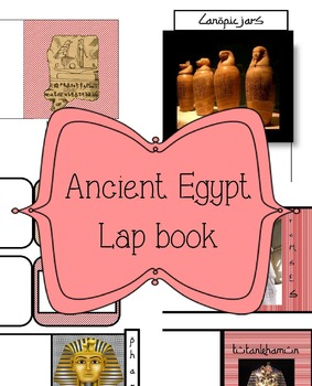 Ancient Egypt Lap book
