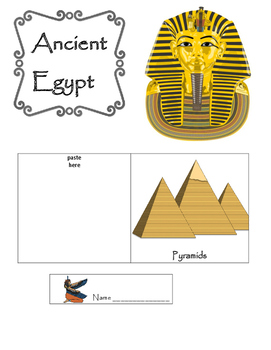 Ancient Egypt Lapbook and Hands On Activities