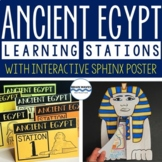 Ancient Egypt Learning Stations, Interactive Sphinx Poster, Lessons, Activities