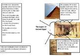 Ancient Egypt - Legacy Mind Map
