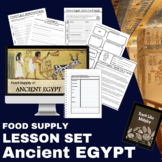 Ancient Egypt Lesson: Food Supply
