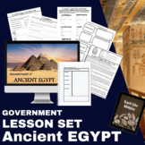 Ancient Egypt Lesson: Government