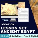 Ancient Egypt Lesson: Location