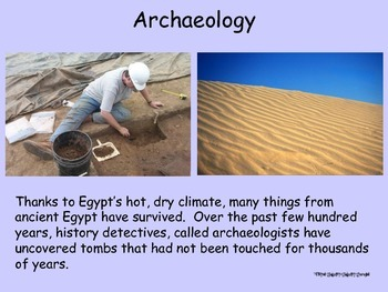 Ancient Egypt Lesson PowerPoint