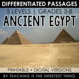 Ancient Egypt: Passages - Distance Learning Compatible