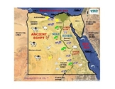 Ancient Egypt Map  Study Guide, Printable,  HomeSchool.