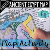 Ancient Egypt Map Activity (Print and Digital)