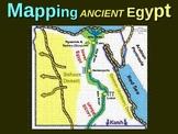 Ancient Egypt Map Activity: Fun, engaging follow-along 20-slide PPT