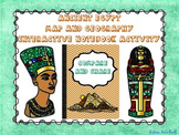 Ancient Egypt Map and Geography - Interactive Notebook Activity