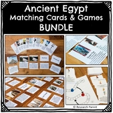 Ancient Egypt Matching Cards and Games Bundle
