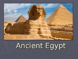 Ancient Egypt Middle School PowerPoint