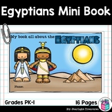 Ancient Egypt Mini Book for Early Readers - Ancient Civilizations Activities