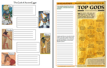 Ancient Egypt Mini-Bundle: Myths, the Afterworld, Hieroglyphics, Gods & Godesses