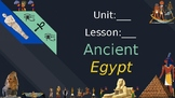 Ancient Egypt (Mini Lesson: Clarifying Words)