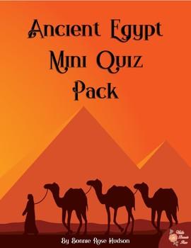 Ancient Egypt Mini Quiz Pack