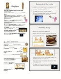 Ancient Egypt Mummification Notes and PowerPoint
