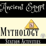 Ancient Egypt Mythology Station Activities for Ancient Egy