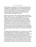 Ancient Egypt New Kingdom Reading Comprehension