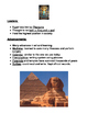 Ancient Egypt Note Packet