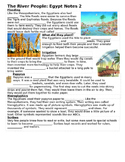 Ancient Egypt Notes PT 2 (to go with PPT 2)