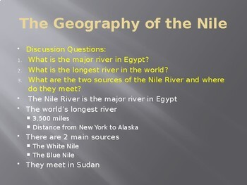 Ancient Egypt & Nubia Power Point
