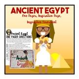 Ancient Egypt One Pager Activity