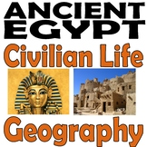 Ancient Egypt Introduction {PLUS Guided Student Note-Takin