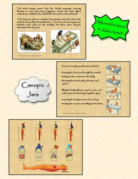 Ancient Egypt PPt and Interactive Notebook Activity