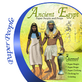 Ancient Egypt Paper People and Props Activity