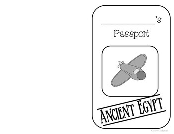 Ancient Egypt Passport