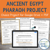 Ancient Egypt Pharaoh Research Project