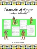 Ancient Egypt Pharaohs Activities Bundle (Distance Learning or Print/PDF)