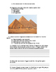 Ancient Egypt Post Test