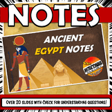 Ancient Egypt PowerPoint Notes