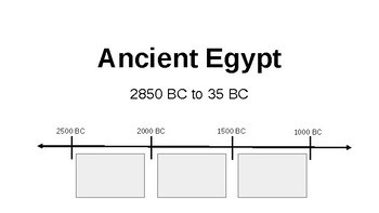 *Preview* Ancient Egypt PowerPoint