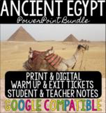 Ancient Egypt PowerPoint Bundle