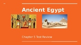 Ancient Egypt PowerPoint Test Review