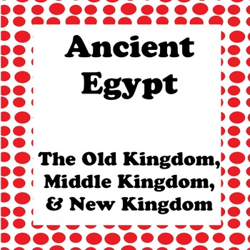 Ancient Egypt Powerpoint - Full