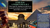 Ancient Egypt Powerpoint: Mini Lesson Questioning (Differe