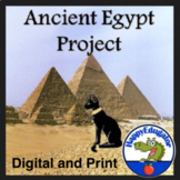 Ancient Egypt Project Based Learning w/ Easel Activity Distance Learning
