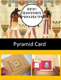 Ancient Egypt Pyramid Card Project