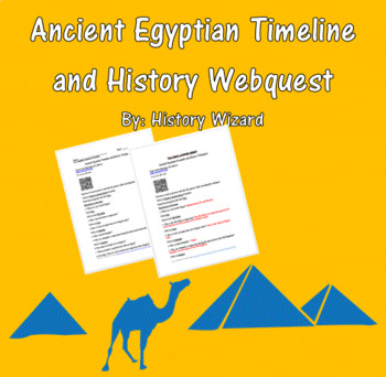 Ancient Egypt Pyramids and History Webquest