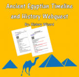 Ancient Egypt History and Timeline Webquest