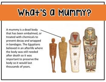 Ancient Egypt: Pyramids & Mummies