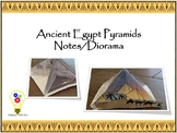Ancient Egypt Pyramids Notes/Diorama